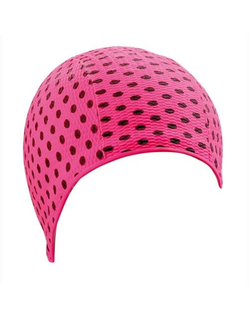 Beco Beco badmuts roze - met stippen