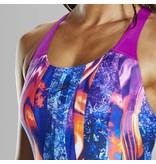 Speedo  LavaFlow Digital Powerback Swimsuit