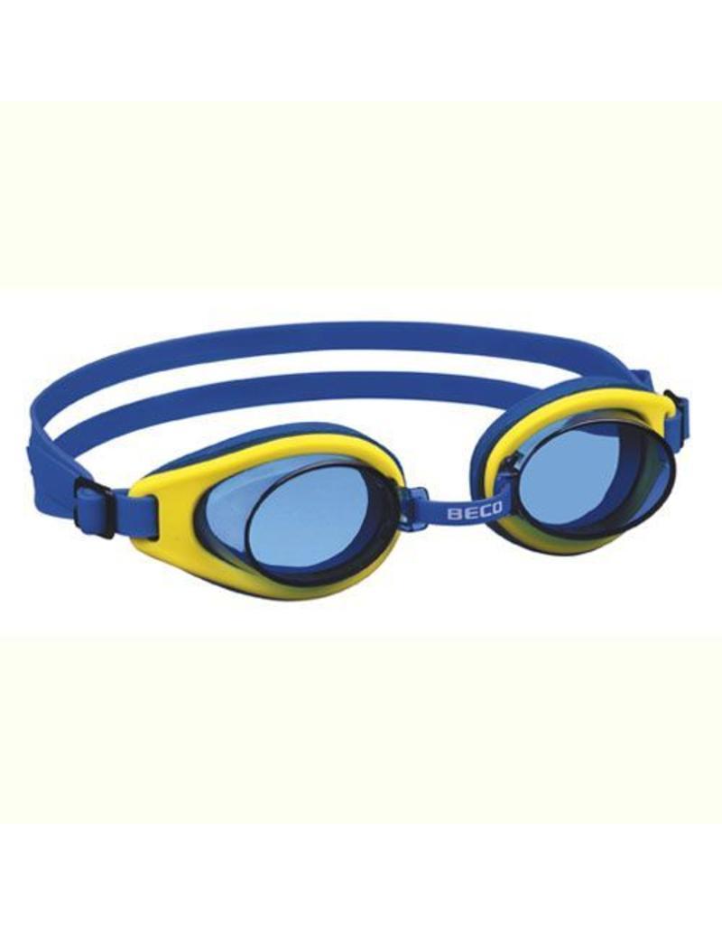 Beco Beco Malibu zwembril  blauw met geel
