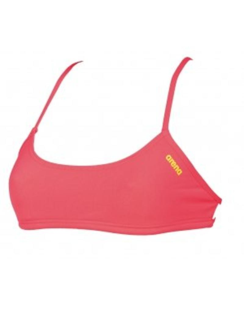 Arena Arena Bandeau Play Fluo Red