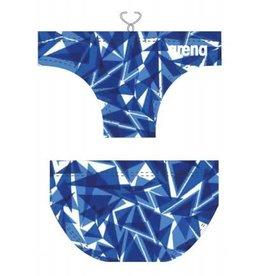 Arena Arena waterpolozwembroek Shattered Blue - maat 4