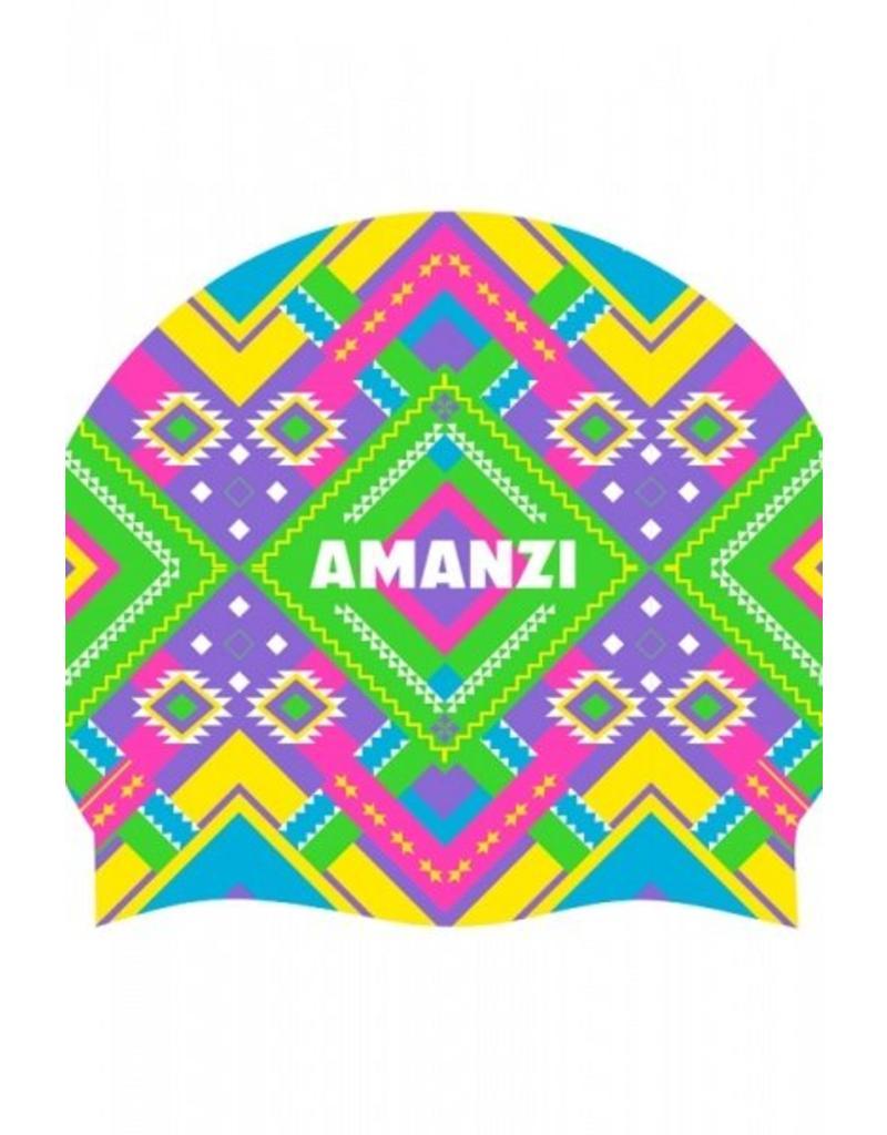 Amanzi Amanzi Badmuts Azteca Swim Cap