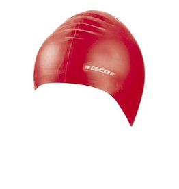 Beco effen Beco badmuts rood