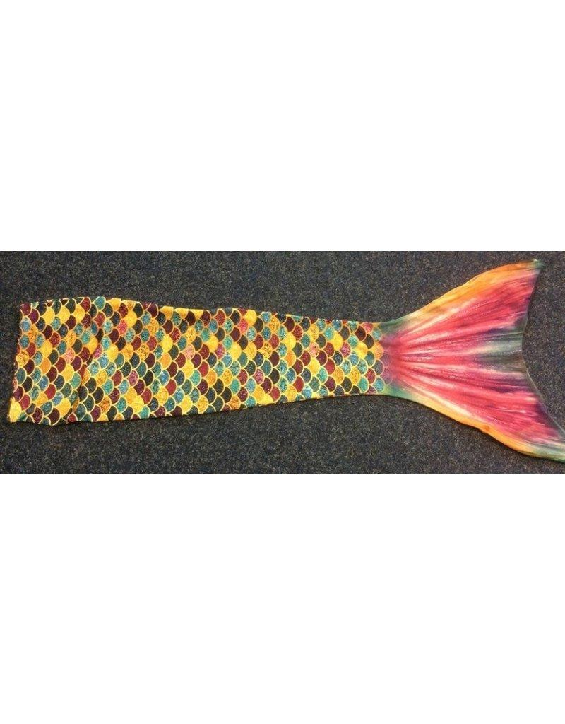 Overige merken Mermaid zeemeerminnenstaart goud geel - maat 10