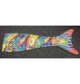 Overige merken Mermaid zeemeerminnenstaart colourful - maat 12