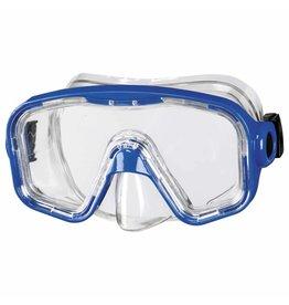 Snorkelmasker blauw - 8+ en 12+
