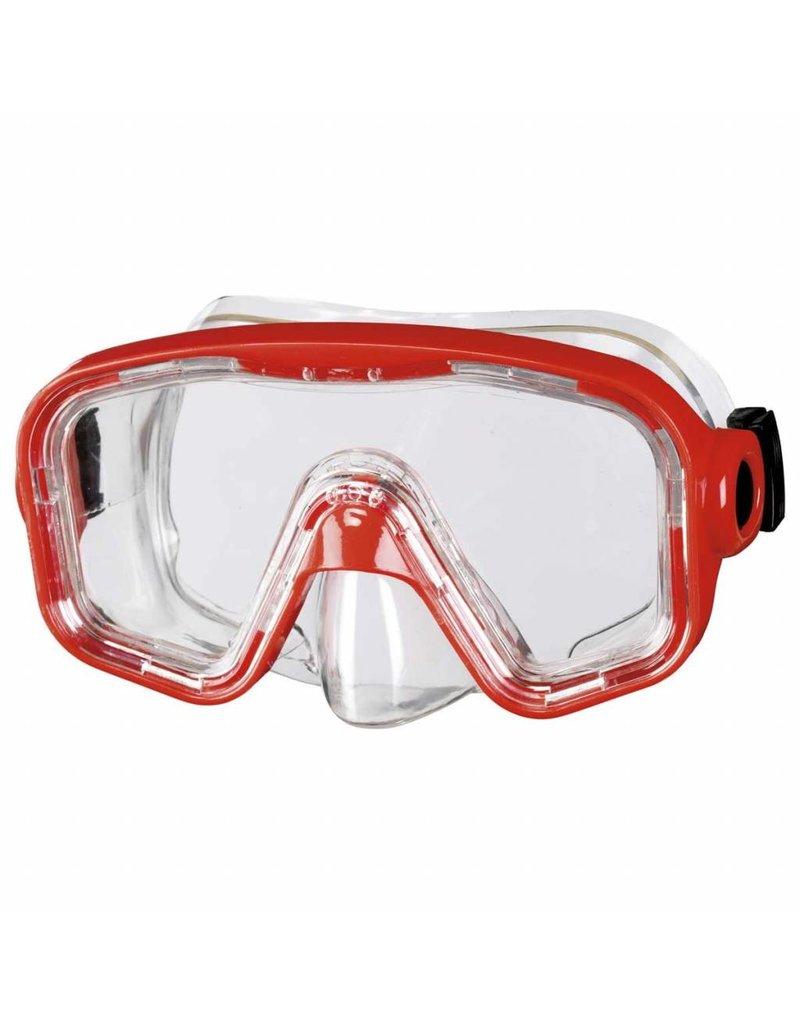 Snorkelmasker rood - 8+ en 12+