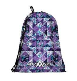 Amanzi Amanzi Mesh Bag - Purple Plaid