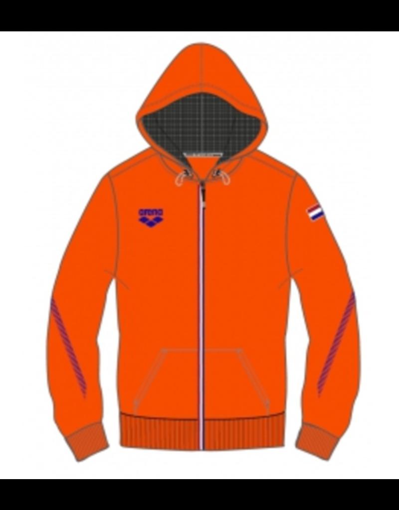 Arena Arena Hooded Nederland jacket orange