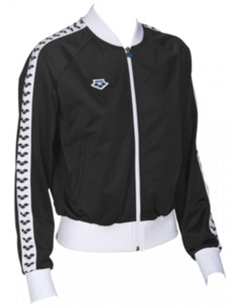 Arena Arena W Relax Iv Team Jacket black-white-black