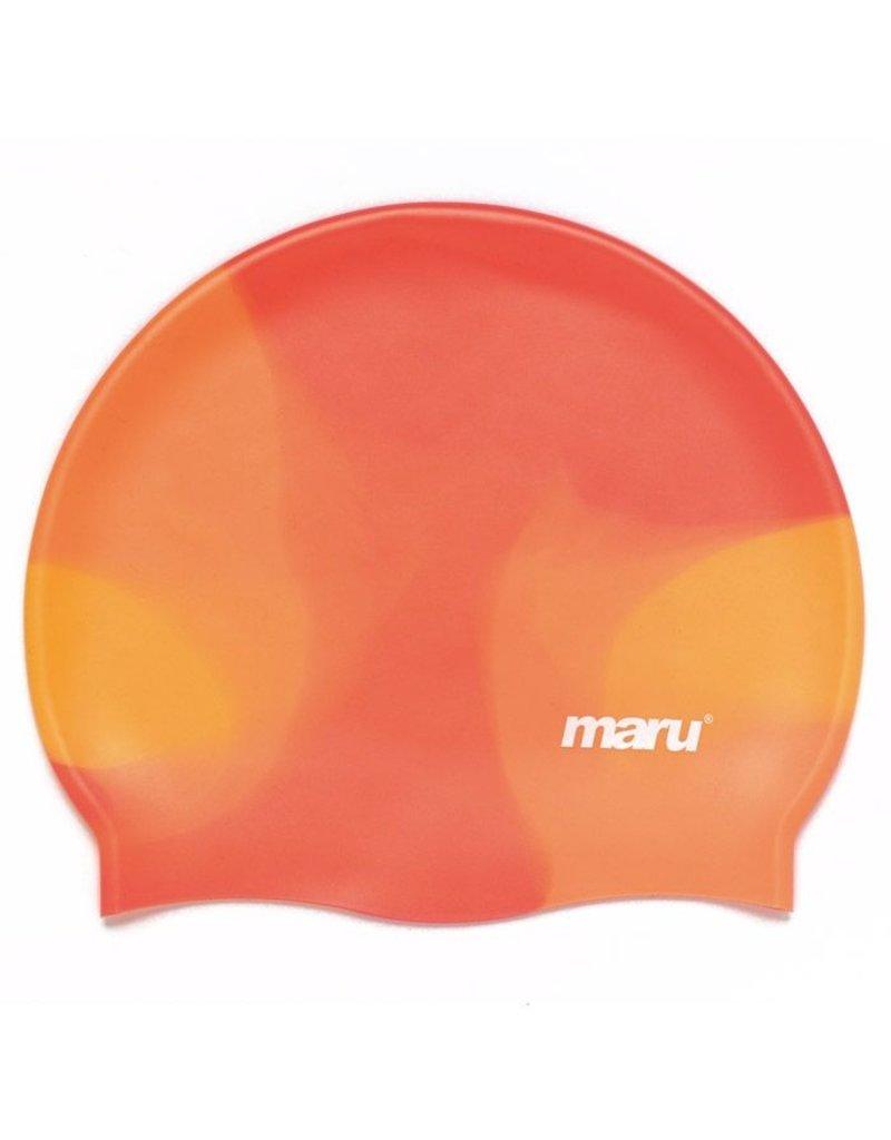 Maru Maru Silicone Badmuts Shades Oranje