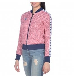 Arena Arena W Relax Iv Team Jacket red - navy