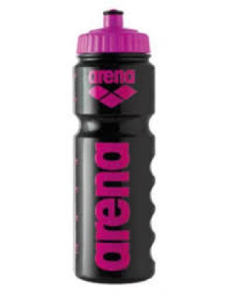 Arena Arena Bidon zwart met roze