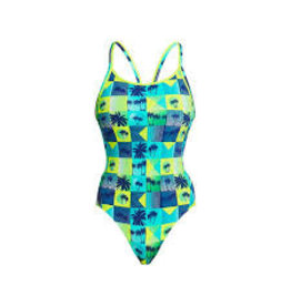 Funkita / Funky Trunks Funkita Pop Tropo Diamond Back Badpak Dames