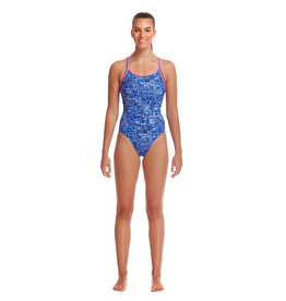 Funkita / Funky Trunks Funkita Sky City Diamond Back Badpak Dames