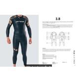 Orca Orca wetsuit 3.8 - herenmodel - DEMO - maat 6 = M
