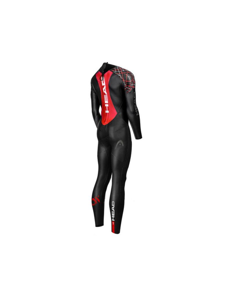 Overige merken Head MyBoost Shell 3.2 Fullsuit Heren, black/red - maat XL