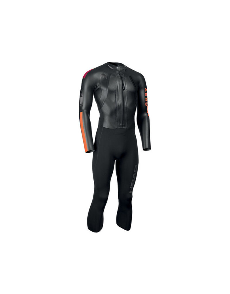 Overige merken Head Swimrun Aero 4.2.1 Wetsuit Heren, black/orange  - maat XXL