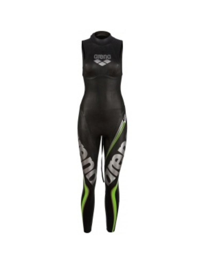 Arena Arena W Triwetsuit Carbon sleeveless dames wetsuit  -  maat M - DEMO