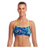 Funkita / Funky Trunks Funkita Bikini Swim Crop Top Butterfly