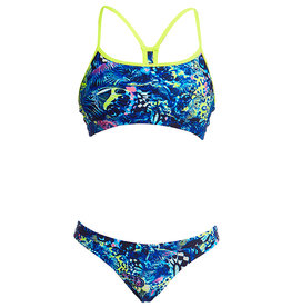 Funkita / Funky Trunks Funkita Bikini Swim Crop Top Butterfly