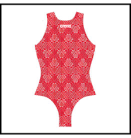Arena Arena Waterpolo One Piece Kikko Red