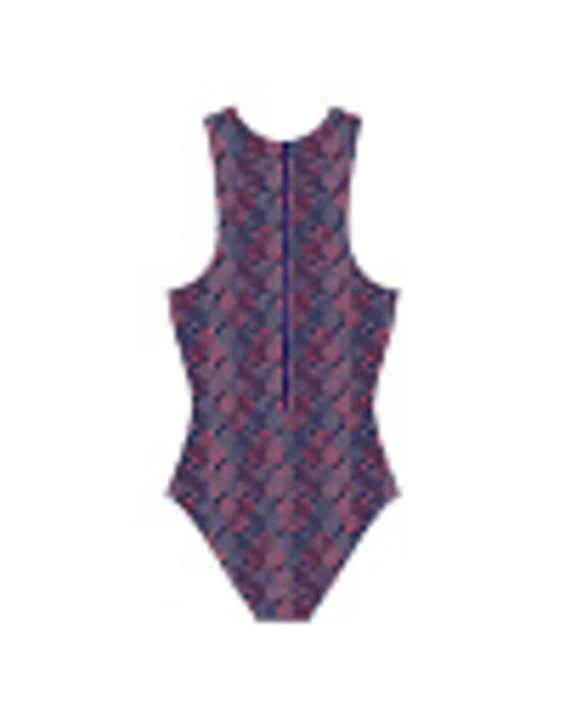 Arena Arena Waterpolo One Piece Navy Red