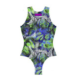 Arena Arena Waterpolo One Piece Green