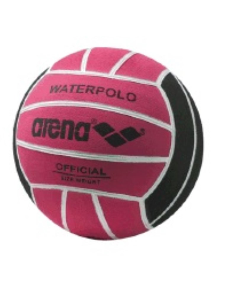 Arena Arena waterpolobal - fuchsia - maat 4