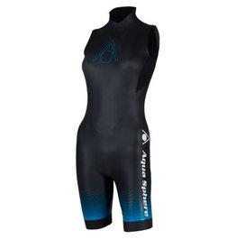 Overige merken Aqua Sphere Aquaskin Shorty V3 Wetsuit - Women