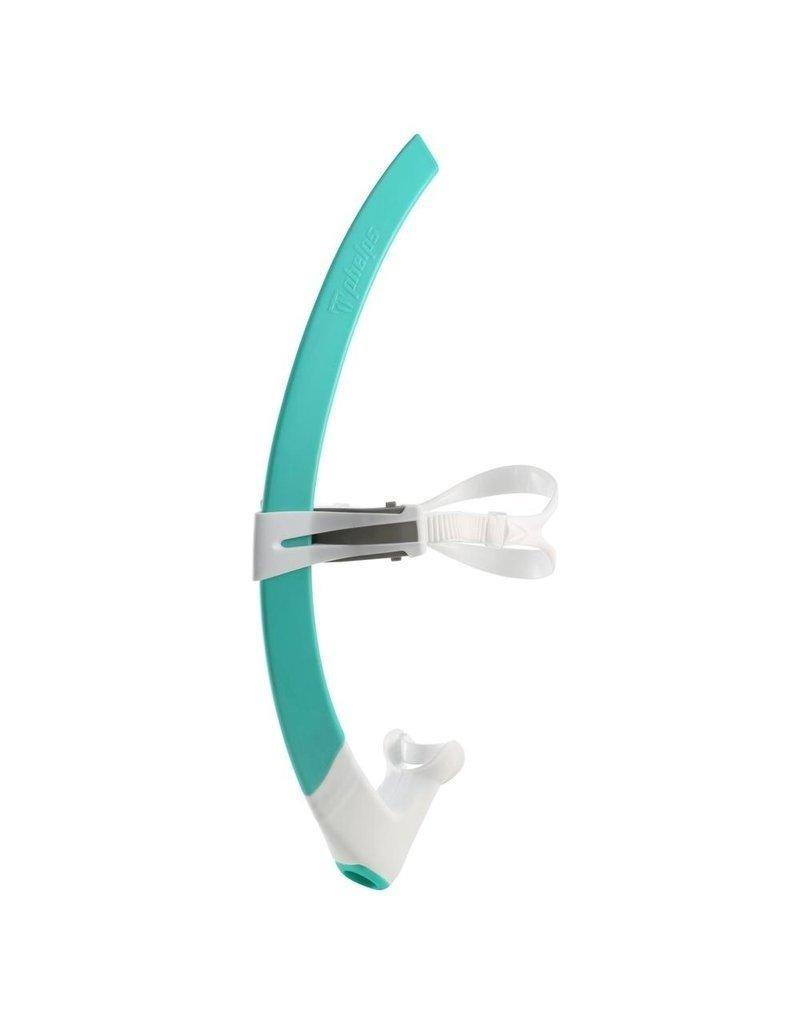 Overige merken Aqua Sphere Focus Front Snorkel - Turquoise