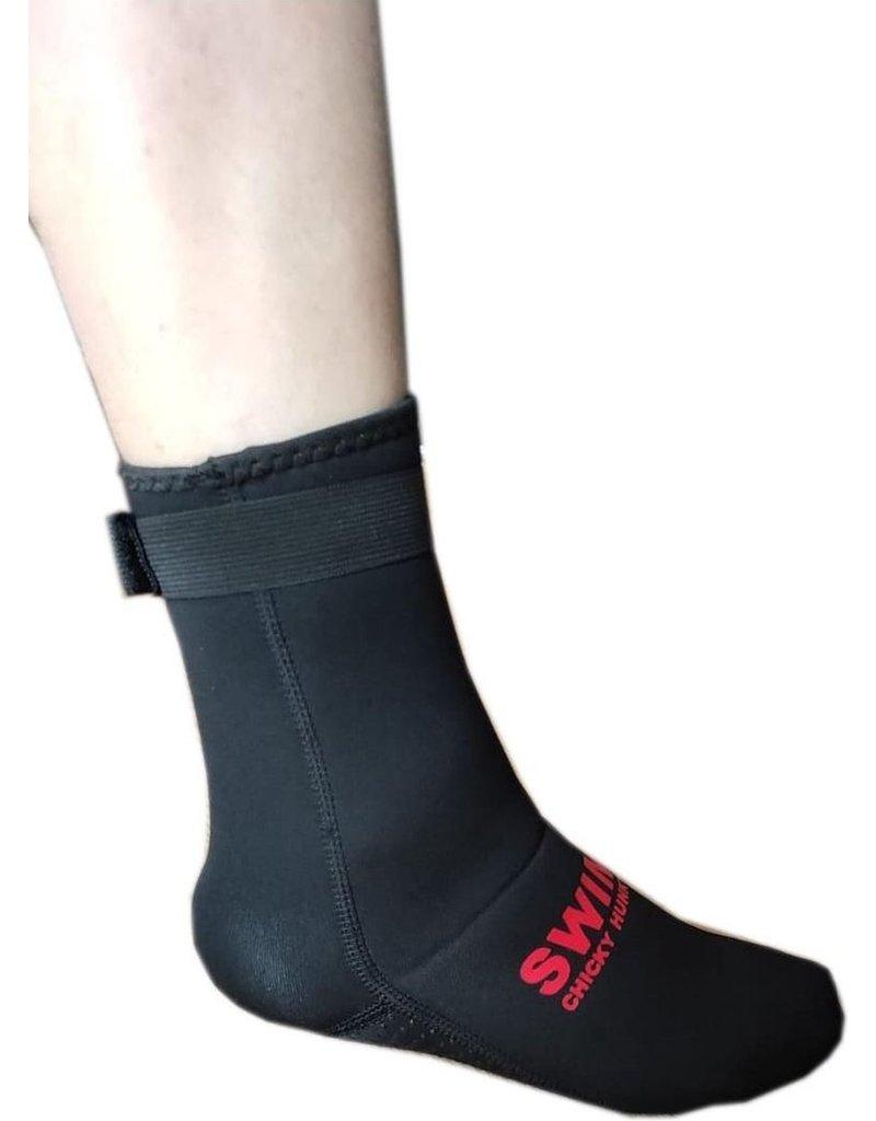 Overige merken zwart Neopreen Zwemsokken, 3MM