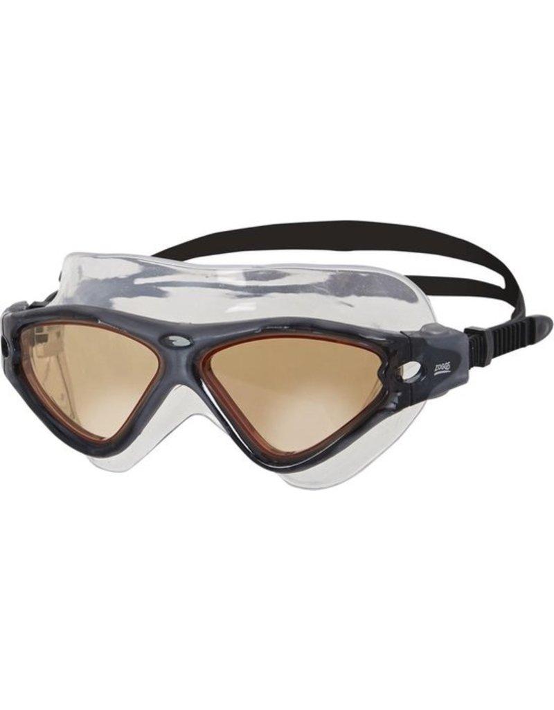 Overige merken Zoggs Tri-Vision Zwembril Black-Braun