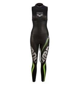 Arena VERHUUR - Arena W Triwetsuit Carbon sleeveless dames wetsuit  -  maat M