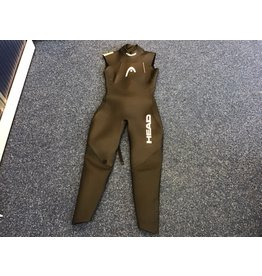 Overige merken VERHUUR - Head Tricomp Power 5/3/2 Wetsuit Dames, black/yellow - maat M