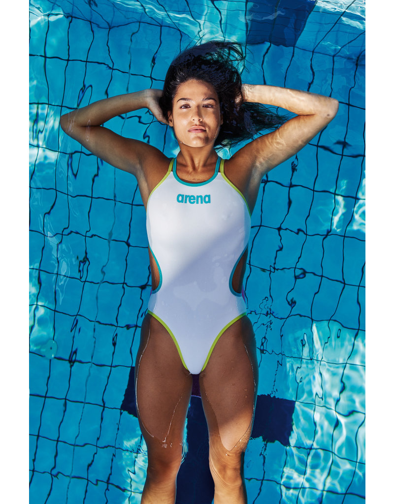 Arena Arena One Shiny Double Cross Back One Piece