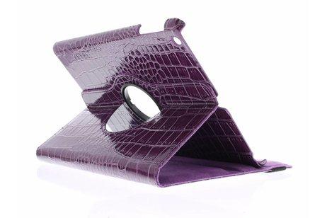 iPad Air hoesje - 360° Draaibare krokodil Bookcase