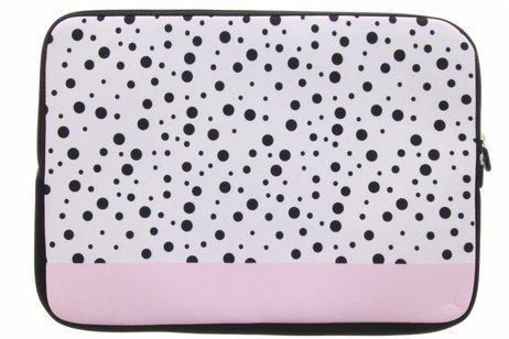 Universele dots design sleeve 13 inch
