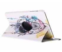 360° Draaibare Design Bookcase Galaxy Tab A 10.1 (2016)