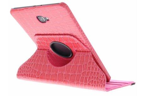 Samsung Galaxy Tab A 10.1 (2016) hoesje - 360° Draaibare krokodil Bookcase