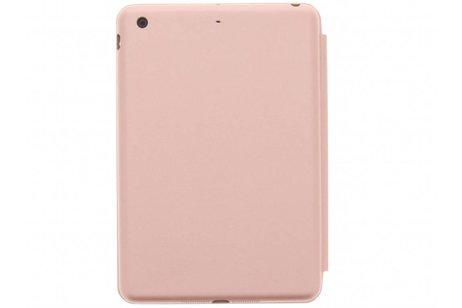 Luxe Bookcase voor iPad Mini / 2 / 3 - Rosé goud