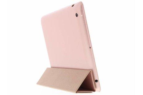 Luxe Bookcase voor iPad 2 / 3 / 4 - Rosé goud