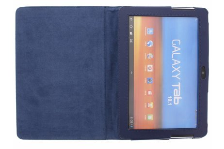 Samsung Galaxy Tab 2 10.1 hoesje - Effen Bookcase voor Samsung