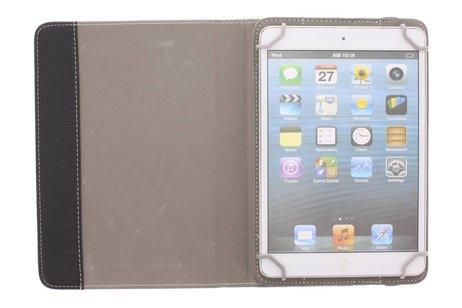 Zwarte universele tablethoes met standaard 7 inch