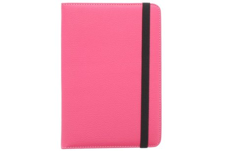 Fuchsia universele tablethoes met standaard 7 inch