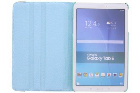 Samsung Galaxy Tab E 9.6 hoesje - 360° Draaibare krokodil Bookcase