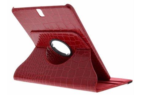 Samsung Galaxy Tab S3 9.7 hoesje - 360° Draaibare krokodil Bookcase