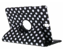 360° Draaibare Polka Dot Bookcase Samsung Galaxy Tab S3 9.7