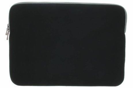 Zwarte universele sleeve voor Macbook 13 inch