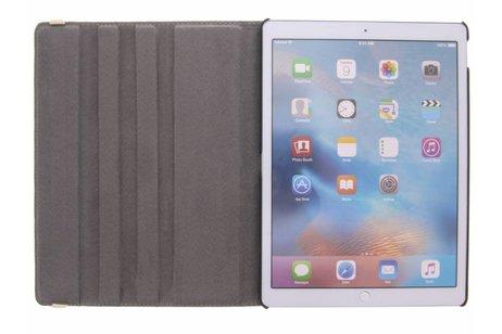 iPad Pro 12.9 hoesje - 360° Draaibare Design Bookcase